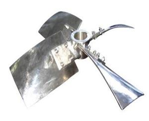 四叶旋桨式jiao拌器