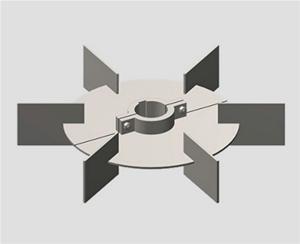 直叶圆盘涡轮式