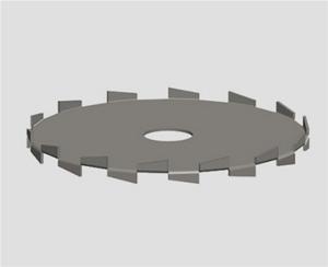 chi形圆盘涡lun式jiao拌器